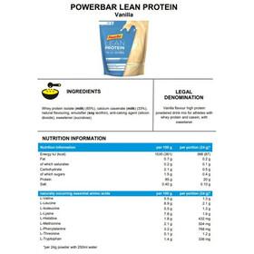 PowerBar Lean Protein Pack Vanilla 500g